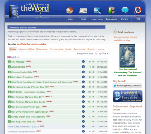 theWordMODULES